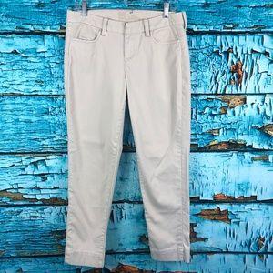 Kut From The Kloth Chino Khaki Skinny Ankle Pants